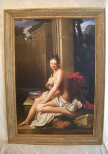 Le tableau de Santerre, Suzanne au bain