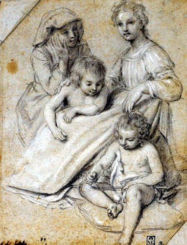 Un tableau de peinture de Giovanni Baglioni