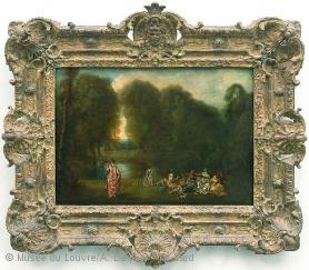 Oeuvre du peintre Jean Antoine Watteau